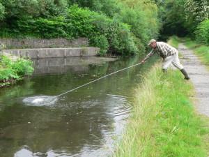 Gordon using the 'Aspen' rake